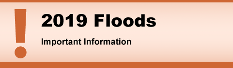 2019 Floods. Important Information.