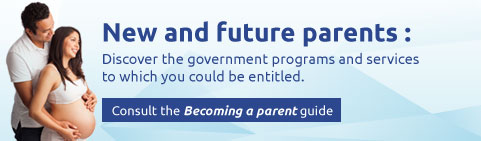 New and future parents: Discover the government programs and servcies to which you could be entitled.